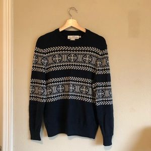 H&M Label of Graded Goods (LOGG) Navy Sweater